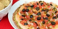 Time for a little Mexican flavor to get you in the mood for a Cinco de Mayo celebration. I've been making this Mexican layer dip since my college days. I got the recipe while I was working a summer office job up in Northern Virginia. One of the gals in the office used to make it for all of us and I