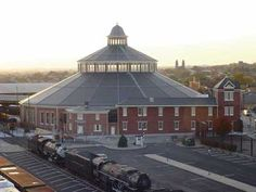 Baltimore and Ohio Railroad Museum, Baltimore Maryland.