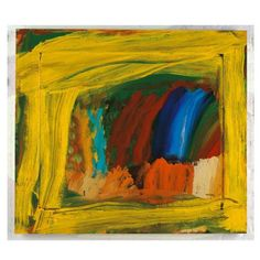 In Mirza's Room · Howard Hodgkin Abstract Painters, Abstract Art, Painting Prints, Painting & Drawing, Howard Hodgkin, Contemporary Paintings, Abstract Expressionism, Modern Art, Illustration Art
