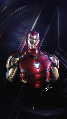 Iron Man Avengers 4K iPhone Wallpaper - iPhone Wallpapers