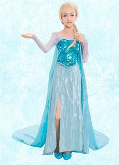 Frozen Elsa Dress | ... -Elsa-Dress-from-Frozen-for-Girls-Elsa-Frozen-Cosplay-Dresses.jpg