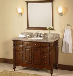 Bathroom Vanities, Antique And Classic Lowes Bathroom Vanity And Sink For  The Small And Elegant