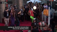 2013 MTV Video Music Awards Red Carpet Arrivals
