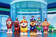 Paw Patrol Movie, Paw Patrol Characters, Jimmy Kelly, Kelly Family, Theatrical Scenery, Led Video Wall, Problem Solving Skills, Save The Day, Concert