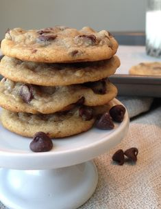 seriously one of the best recipes for chocolate chip cookies! chewy and not overly sweet! my dad just ate three :)