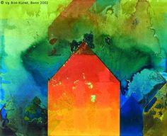 "Rainer Moerk, ""Rot-oranges Haus"", 1999"