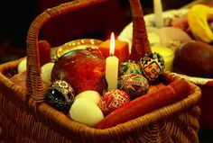 Symbolism Behind Slovak-Ukrainian-Russian Easter Basket Food