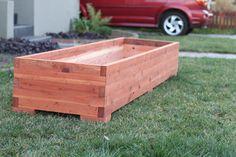 Planter box 8x2 finger joint planter I built
