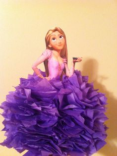 TANGLED CENTERPIECE by TotalParty on Etsy, $12.00 Tangled Party, Tangled Rapunzel, Princess Rapunzel, Disney Princess Birthday Party, Cinderella Party, Love Gifts For Her, Disney Bridal Showers, Birthday Party Centerpieces, 6th Birthday Parties