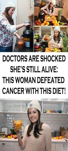 DOCTORS ARE SHOCKED SHE'S STILL ALIVE: THIS WOMAN DEFEATED CANCER WITH THIS DIET!