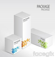 White box design vector