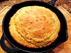 I just don't pin, I actually do try out recipes and this is probably the best Cornbread recipe I've come across - from Pinterest! Very easy, moist, and nice and crispy on the bottom and sides. Cast iron pan makes a big difference.