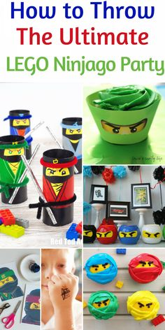 How to Throw A Lego Ninjago Party - Family Food And Travel