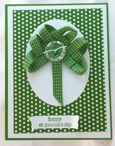 All That Scrap: St. Patrick's Day Card.