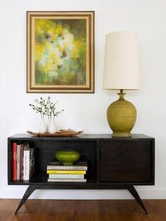 Like the art, seems easy to do. Mid-Century Modern Home Tour: The Foyer