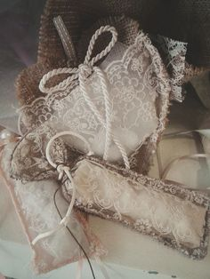Romantic vintage wedding bombonieres S Dimiourgin