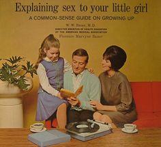 Explaining Sex to Your Little Girl on Vinyl. Hahahah