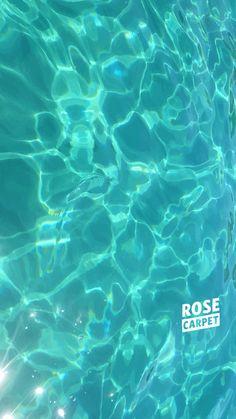 fond d'écran bleu sirène RoseCarpet