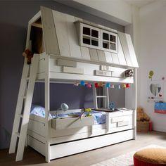 Kinderhochbett für zwei  Piraten Hochbett mit Rutsche für Zwei Jetzt bestellen unter: https ...