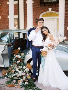 Southern Elegance at Sarasota Florida Wedding ✨ Sarasota Florida, Florida Wedding Venues, Wedding Vendors, Wedding Car Ribbon, Wedding Cars, Wedding Stuff, Alter Rolls Royce, Vintage Rolls Royce, Winter Wedding Flowers
