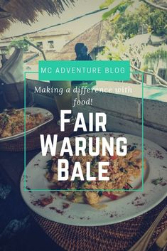Fair Warung Bale in Ubud, Bali, not only has fantastic food and great service, it also gives of its profits to foundations that provide free medical care! Travel Articles, Travel Advice, Travel Tips, Travel Pictures, Travel Photos, Unique Hotels, Ubud, World Traveler, Asia Travel