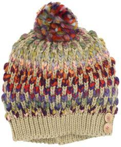 Amazon.com: Roxy Girls 7-16 Berry Knit Cap, Safari, One Size: Clothing
