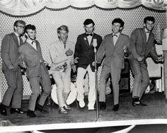 Ringo Starr with Rory Storm and the Hurricanes.