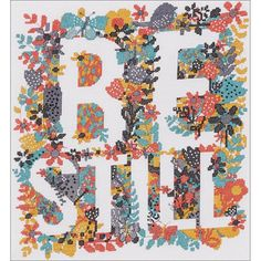 "Be Still Counted Cross Stitch Kit-10.5""X11.5"" 14 Count"