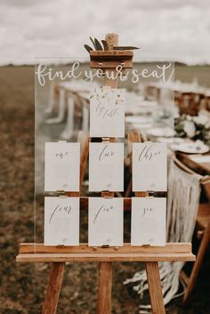 Wedding Table Plan Ideas - 10 Unique and Stylish Trends