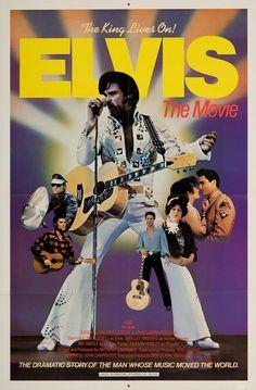 "Elvis: The Movie 1979 Authentic 27"" x 41"" Original Movie Poster Near Mint Kurt Russell Musical U.S. One Sheet"