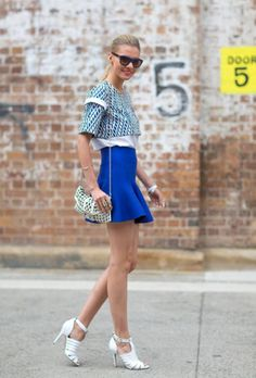 Streetstyle inspiration - Color - Style It Up