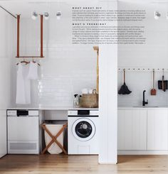 wallpaper // basket // canvas laundry bin // towels photo credit: Nicole Cohen Very excited to announce that our laund...