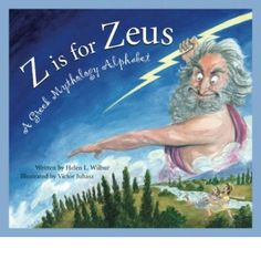 """""""An A to Z introduction to Greek mythology including heroes, gods and goddesses, the Iliad, Dephi, and Labyrinth. Each topic is introduced with a poem and includes detailed-filled expository text"""""""