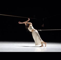 Pina Bausch Although we may not have ropes, could incorporate this PULL in the movement. Pina Bausch, Contemporary Dance, Modern Dance, Contemporary Photography, Dance Movement, Stage Set, Dance Photos, Lets Dance, Dance Photography