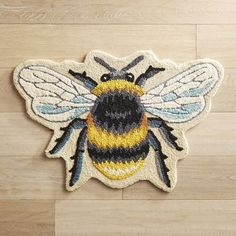 Brighten up your home with our easy-care rug. From your entryway to the kitchen to a bedroom, its imaginative design will create a buzz in any space.