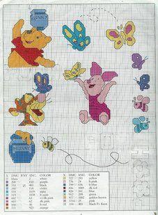 GRAFICOS INFANTILES PUNTO DE CRUZ