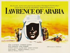 One of my 5 favorite movies: Lawrence of Arabia