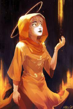 The Seer Of Light by m-arci-a.deviantart.com on @DeviantArt