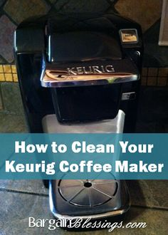 Use these seven simple steps to keep your Keurig looking and working like new. They will also keep mineral deposits out of your coffee and tea!