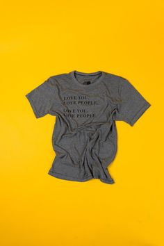 This street-style unisex tee is unveiling one our favorite messages…