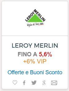 Leroy Merlin, Convenience Store, Italia, Convinience Store