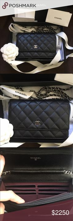 Chanel WOC Brand new Chanel WOC black Caviar with Silver hardware. authentic. Made in France. Local pick up in San Francisco Bay Area! Please contact me for more info. Can meet in department store. I was on the waiting list for this item long time. Sold out everywhere!! CHANEL Bags Mini Bags