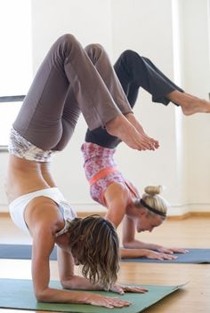 This takes concentration and good core muscles. I would like to be able to do this one day. Muffin Top-Less