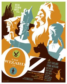 The Wizard of Oz poster by Tom Whalen