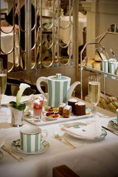 Claridges for afternoon tea.....
