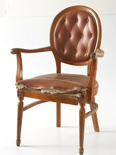 Basic or unattractive armchairs are a flea market staple. Buy one for a few dollars and give it a new attitude: http://www.bhg.com/decorating/makeovers/furniture/flea-market-chair-makeover/?socsrc=bhgpin102414fleamarketchairmakeover