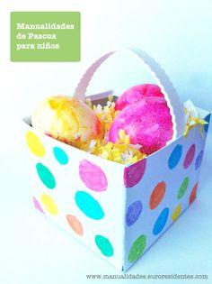 Manualidades de Pascua para hacer con niños / Easter crafts http://manualidades.euroresidentes.com/2013/03/manualidades-de-pascua-para-ninos.html