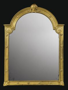 Gilt-bronze toilette mirror from the court of Louis XIV, 17th century, French school (Sotheby's)