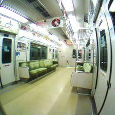 Gizmon iCA lens fish eye  / GIZMON HALF D - 福岡市営地下鉄 - Camera Talk -