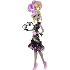 Monster High Welcome to Monster High Dance Party Doll, Moanica D'Kay, Multicolor